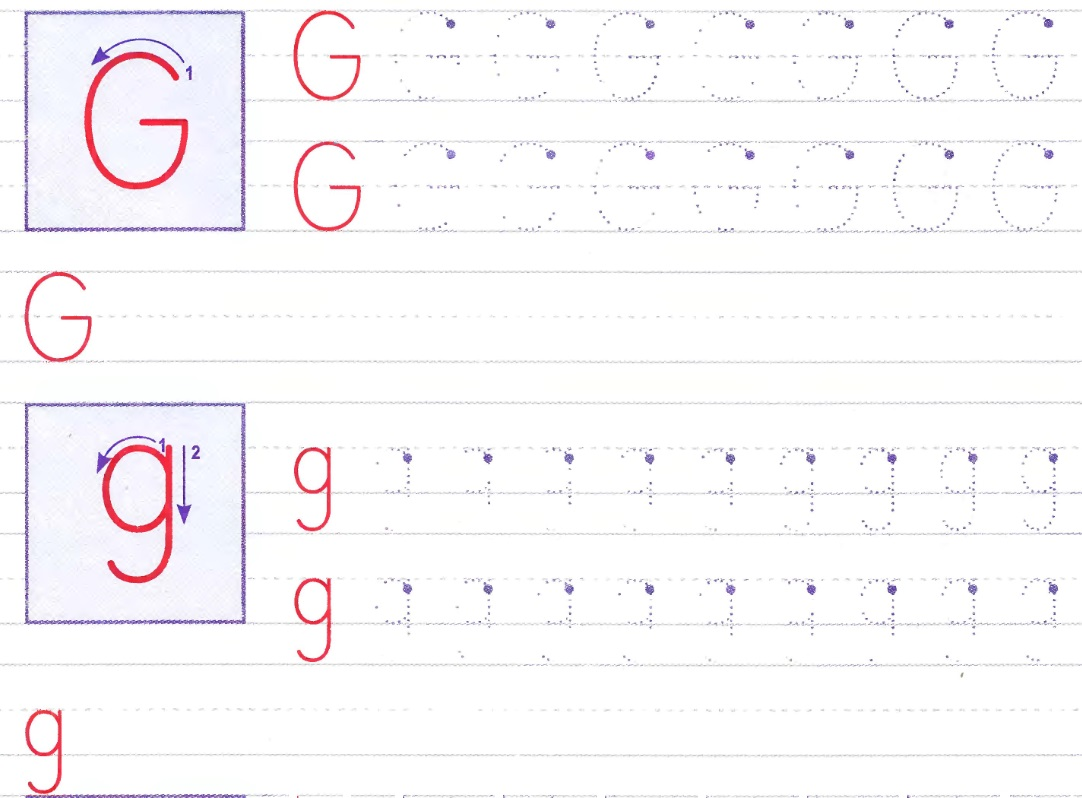 английская буква G