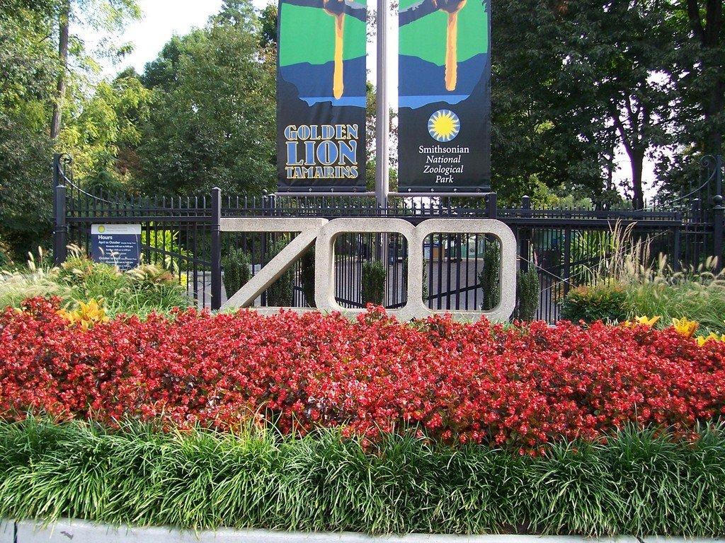 Вход в Национальный зоопарк (National Zoo)