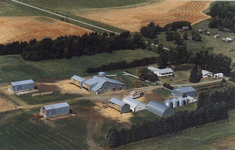 Ферма в канадских прериях