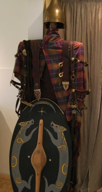 Одежда кельтов