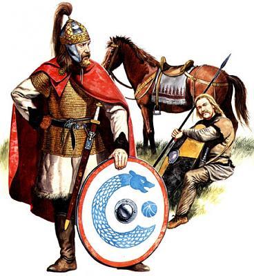 Норманнские воины