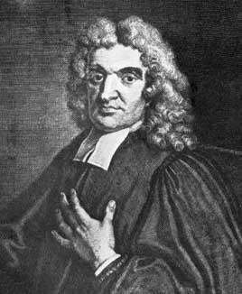 Джон Фламстид (John Flamsteed), первый Королевский астроном.