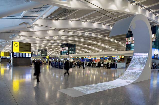 Аэропорт Хитроу (the Heathrow airport) внутри