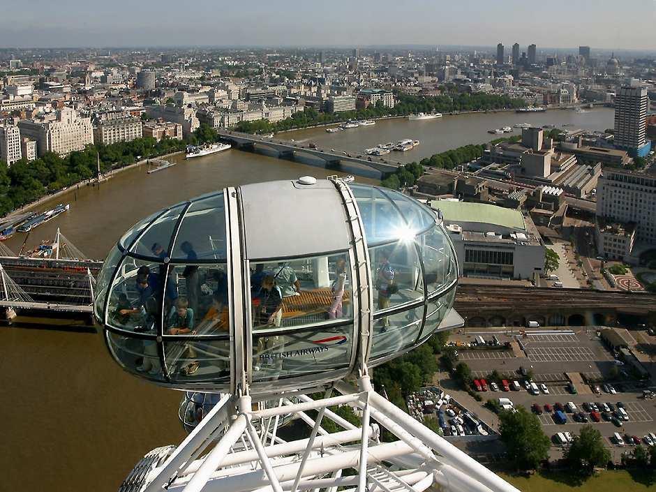 Лондонский глаз (The London Eye), капсула