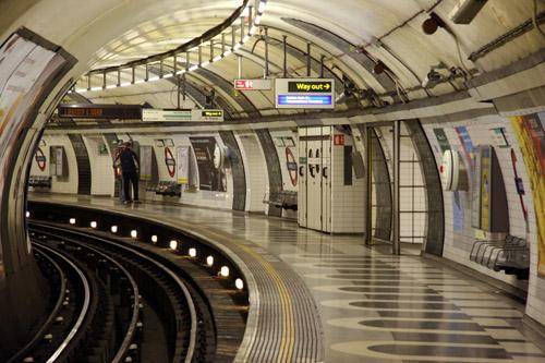 Лондонский метрополитен (the London Underground)
