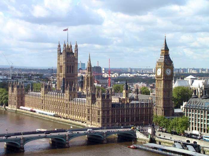 Вестминстерский Дворец (the Palace of Westminster)