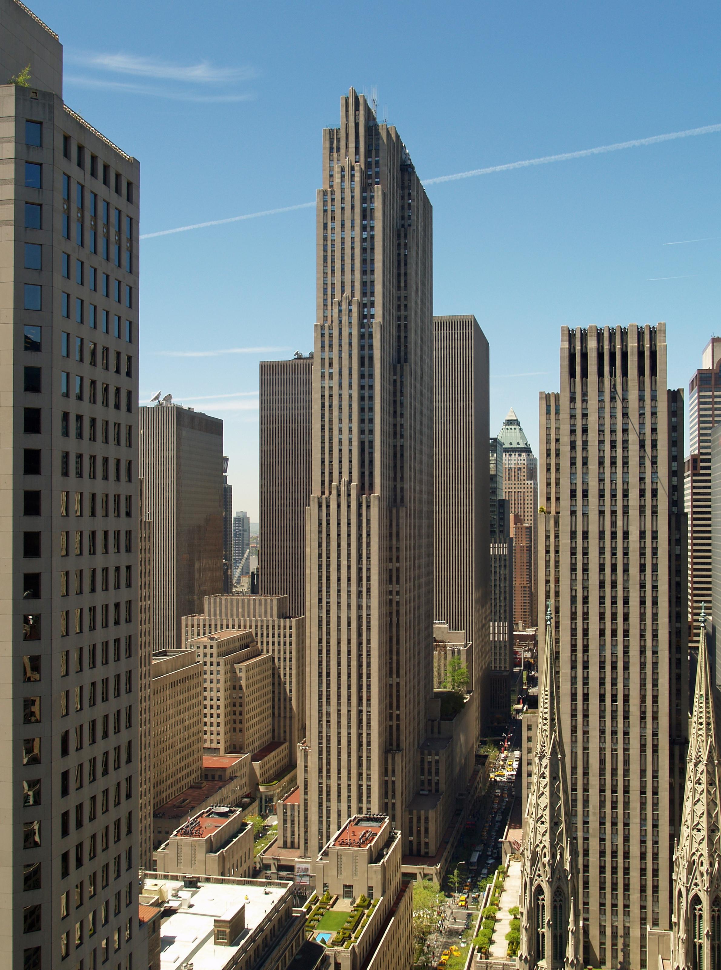 Рокфеллеровский Центр (Rockefeller Center)