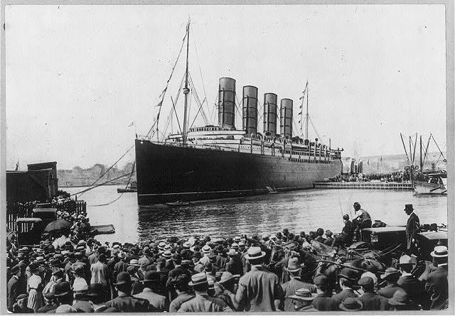 Океанский лайнер «Лузитания» (Lusitania)