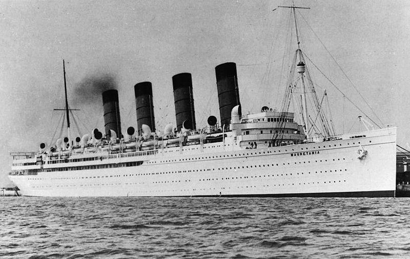 Океанский лайнер «Мавритания» (Mauretania)