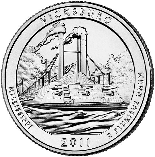 Монета в 25 центов (quarter)