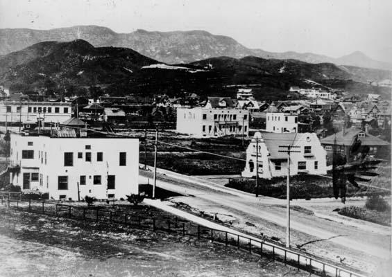 Голливуд в 1907 году
